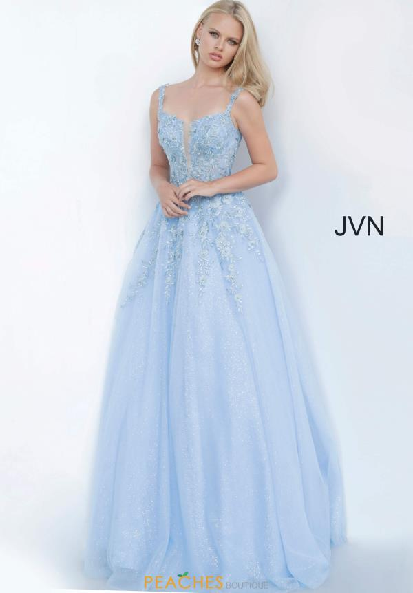 JVN by Jovani Scoop Applique Dress JVN4271