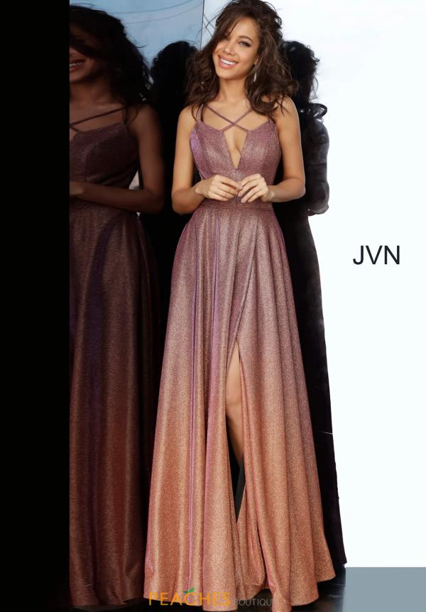 JVN by Jovani Open Back Long Dress JVN4327