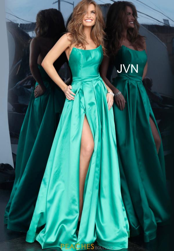JVN by Jovani A Line Scoop Dress JVN67858