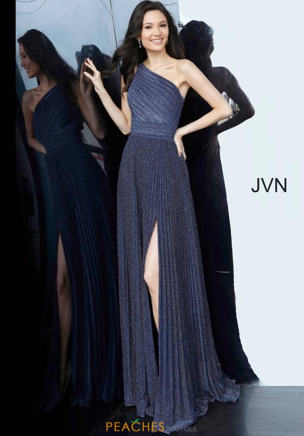 JVN by Jovani Single Shoulder Long Dress JVN68092