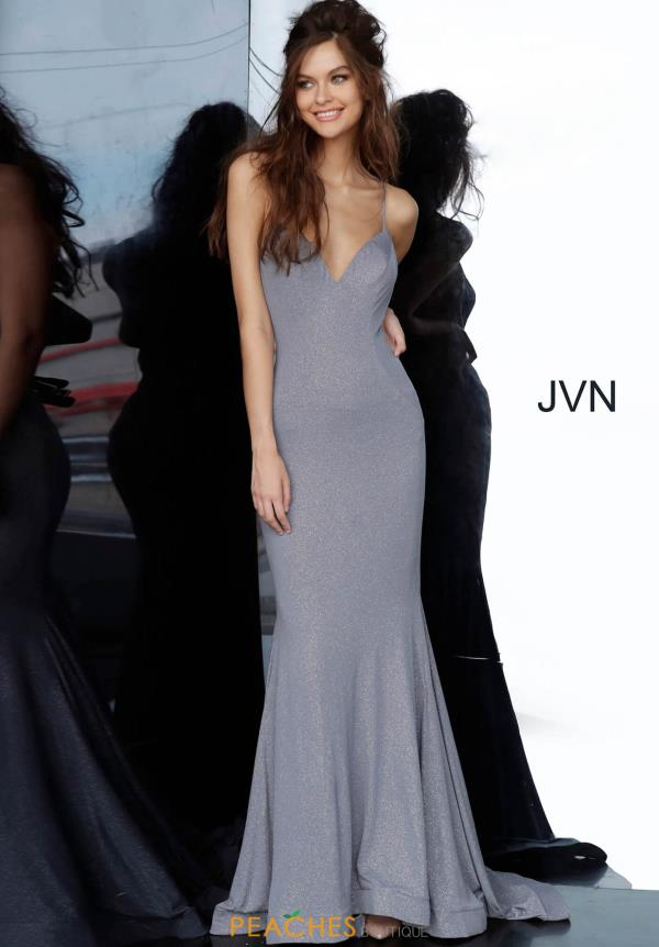 JVN by Jovani Sexy Back Fitted Dress JVN68745