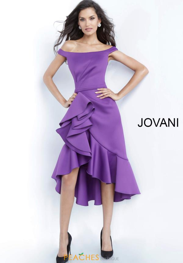 Jovani Short Cap Sleeved Fitted Dress 1469