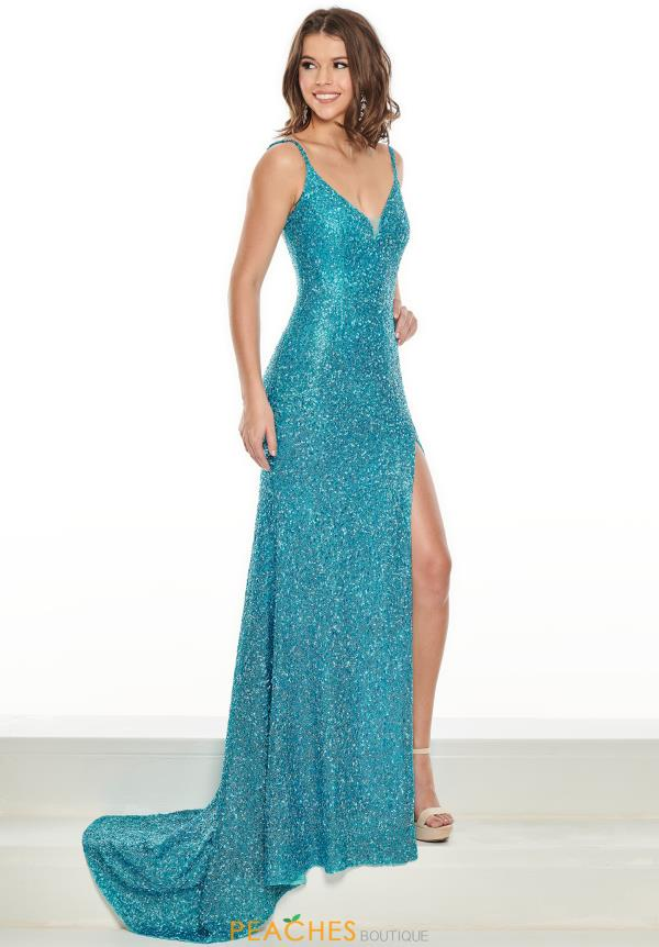 Prima Donna Pageant Long Beaded Dress 5101