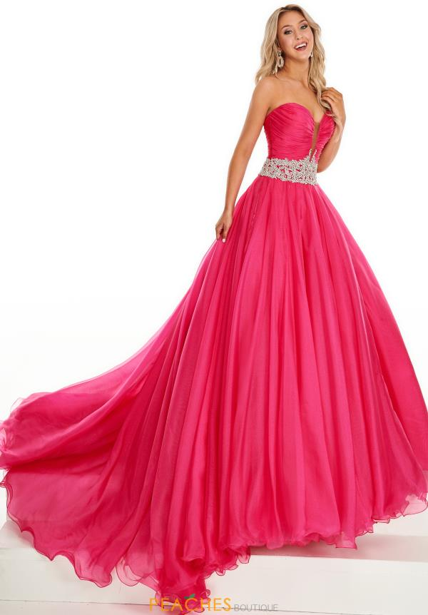 Prima Donna Strapless A Line Pageant Dress 5103