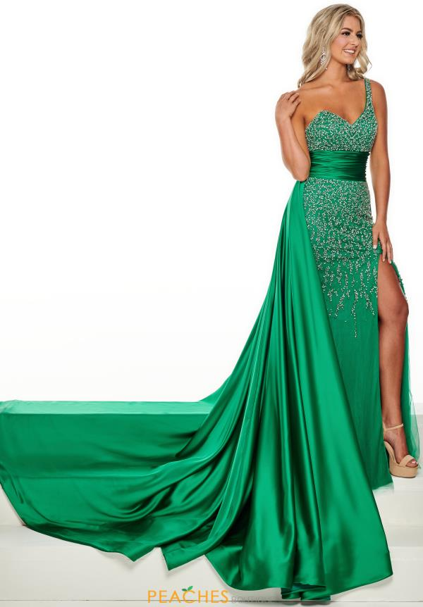 Prima Donna Pageant Long Beaded Dress 5111