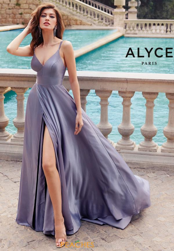 Alyce Paris Long A Line Dress 60624