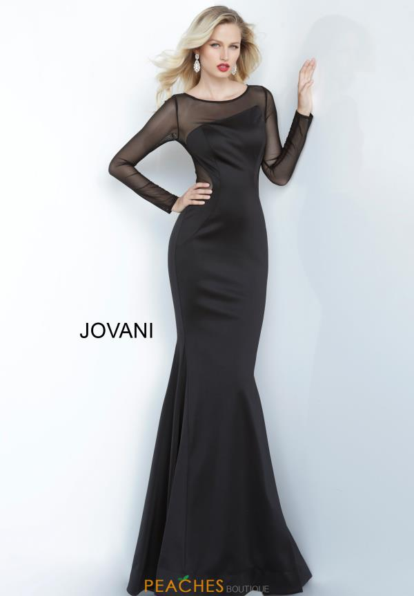 Jovani Long Fitted Dress 1036