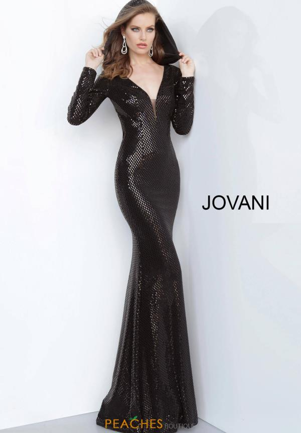 Jovani Long Fitted Dress 1107