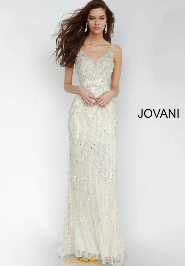 Jovani Long Fitted Dress 2468