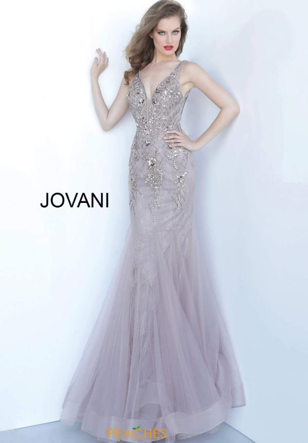 Jovani Fitted Beaded Dress 2534