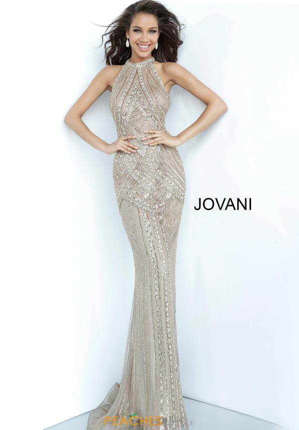 Jovani Long Beaded Dress 2554