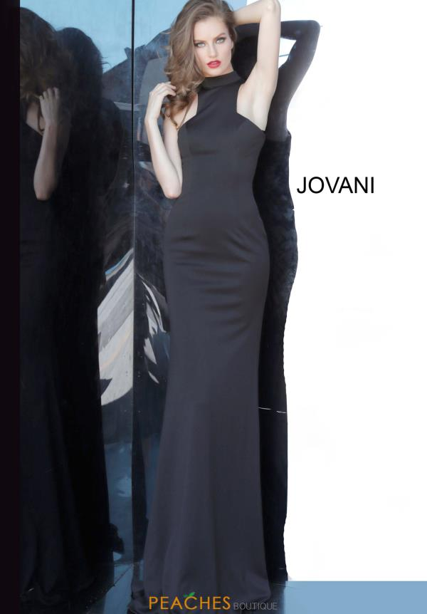 Jovani Long Halter Dress 3083