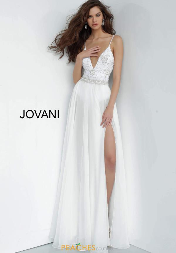 Jovani Long A Line Dress 3308