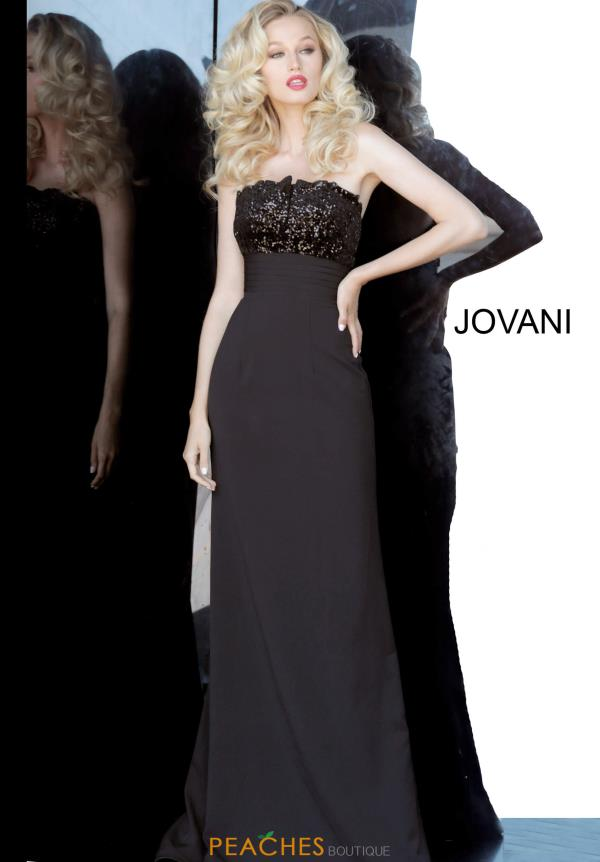 Jovani Strapless Fitted Dress 3312