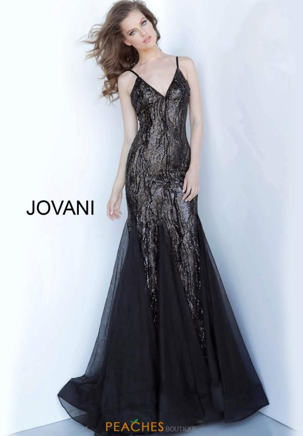 Jovani Long Fitted Dress 3382