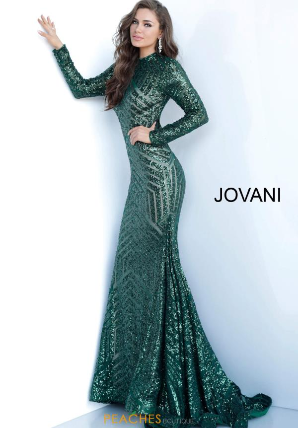 Jovani Long Fitted Dress 4060