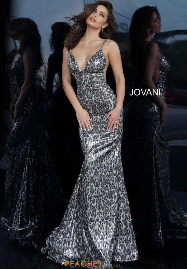 Jovani Long Fitted Dress 4087