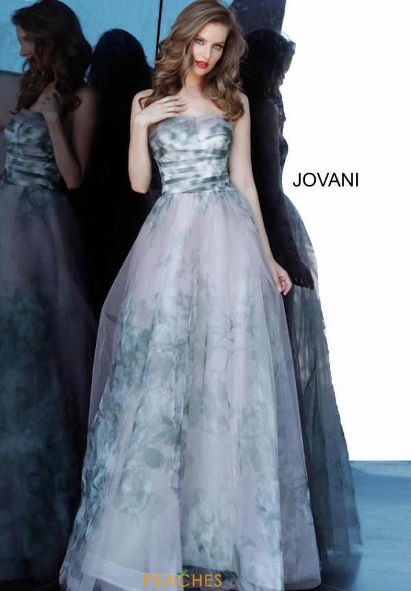 Jovani Long A Line Dress 4434