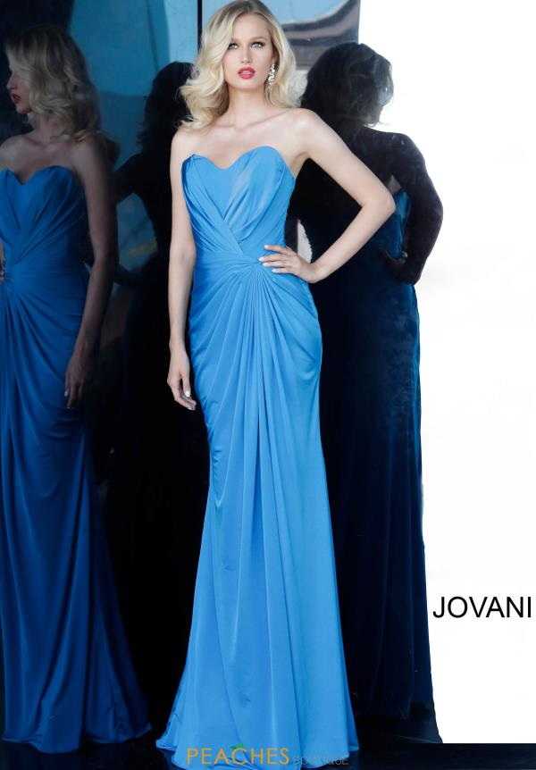 Jovani Long Strapless Dress 67845