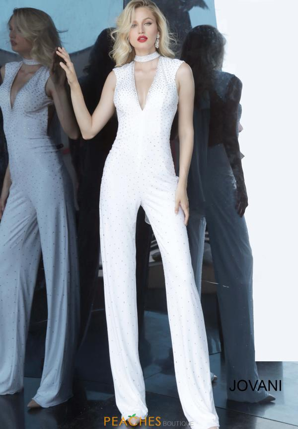 Jovani Long Jump Suit Dress 67941