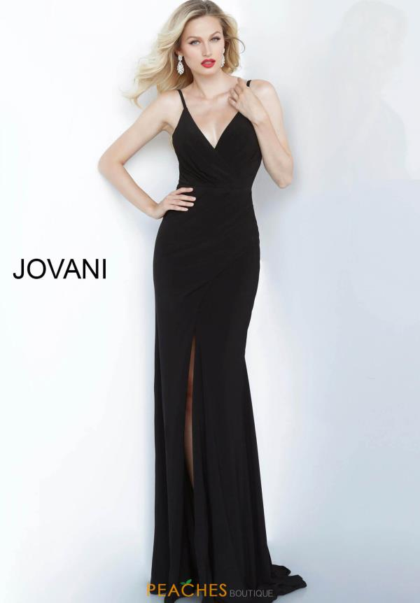 Jovani Long Fitted Dress 68439