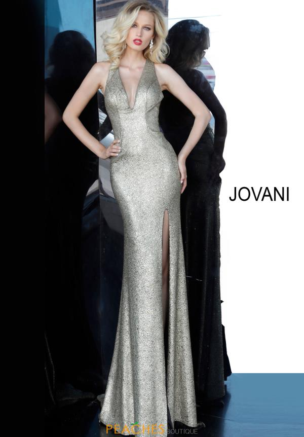 Jovani Long Fitted Dress 68481