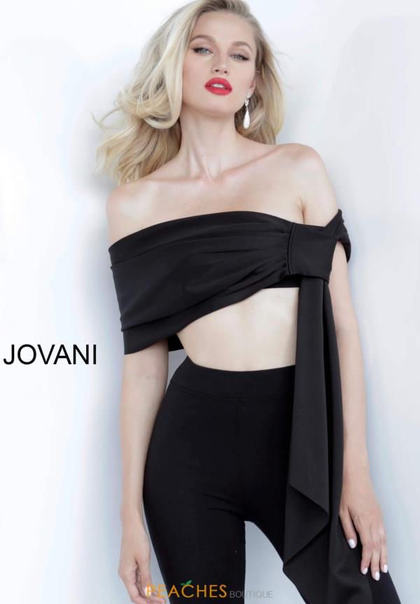 Jovani Two Piece Jump Suit Dress 68693