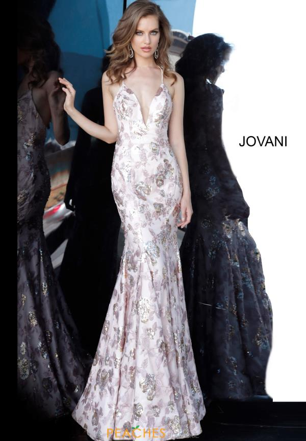 Jovani Fitted Mermaid Dress 68708