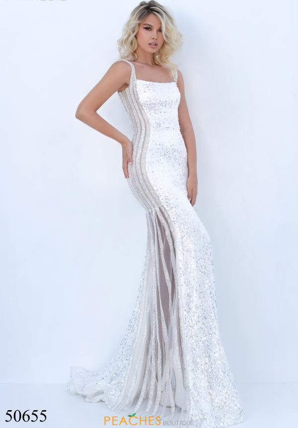 Tarik Ediz Beaded Sequins Dress 50655