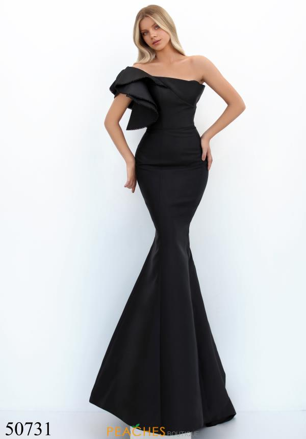 Tarik Ediz Long Mermaid Dress 50731