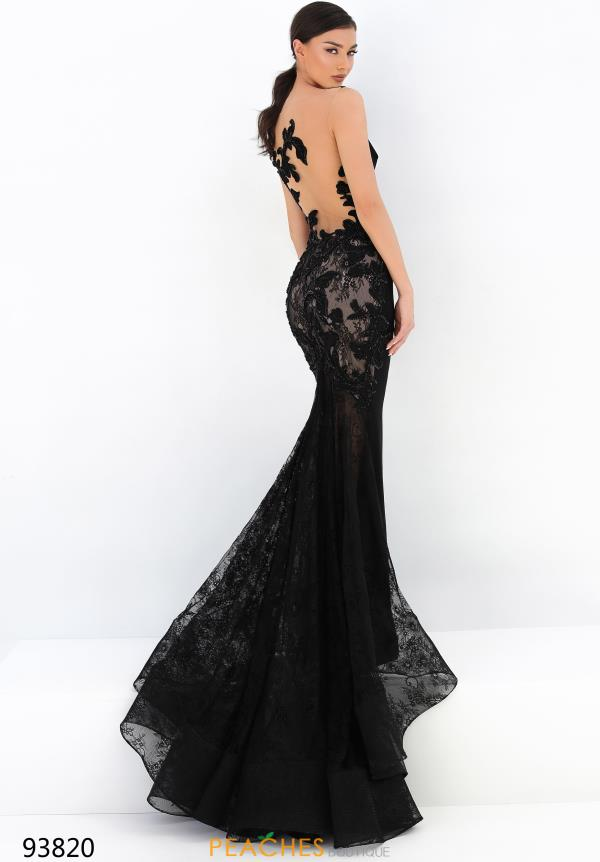 Tarik Ediz Fitted Beaded Dress 93820