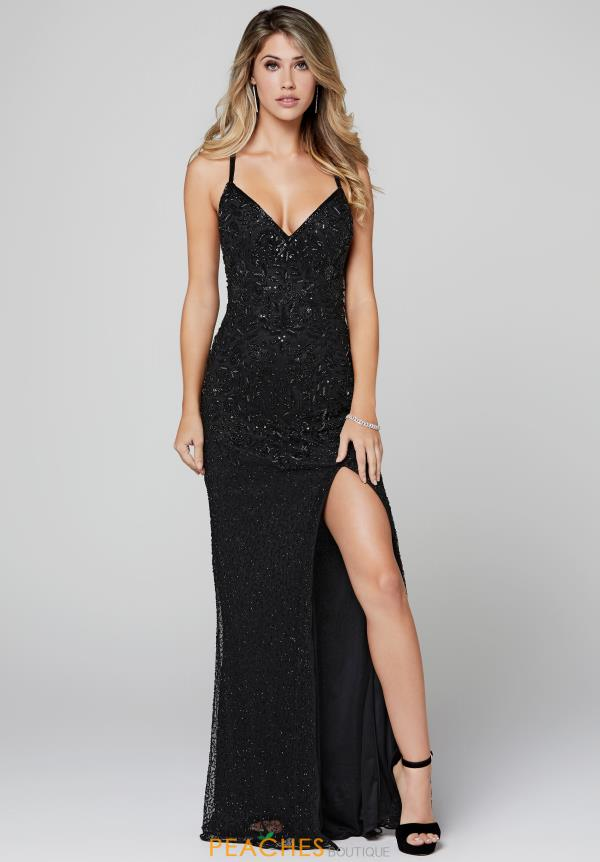 Primavera V-Neck Sequins Dress 3404
