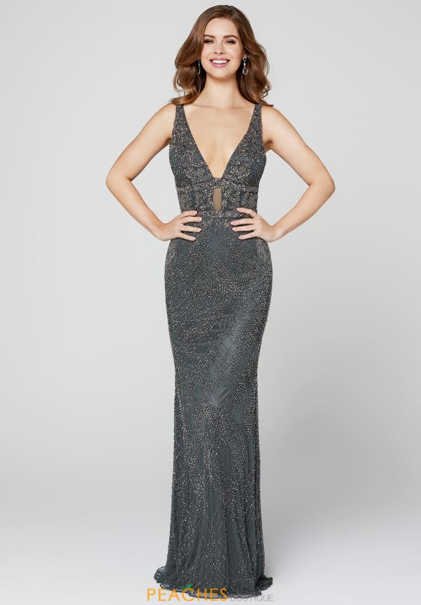 Primavera Sequins Fitted Dress 3416