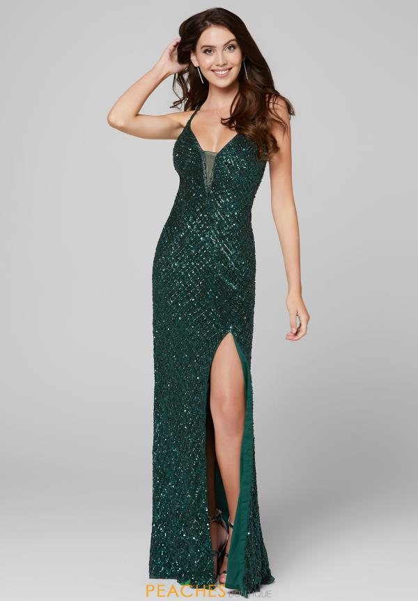 Primavera Long Fitted Dress 3418
