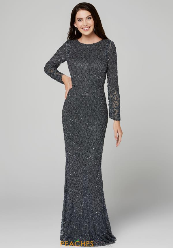 Primavera Long Sleeved Fitted Dress 3361