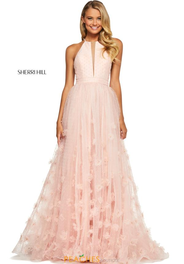 Sherri Hill Long A Line  Dress 53595
