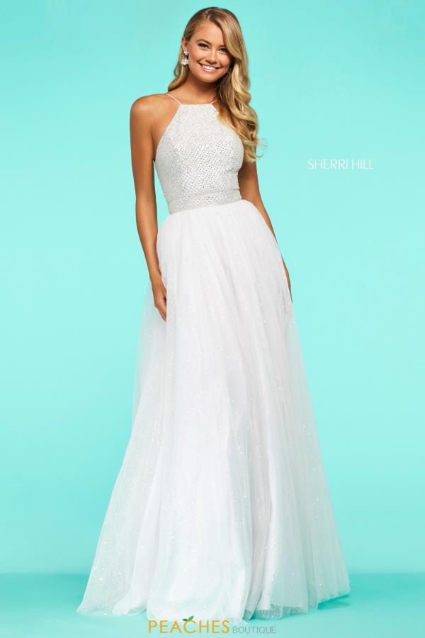 Sherri Hill Long A Line Dress 53618