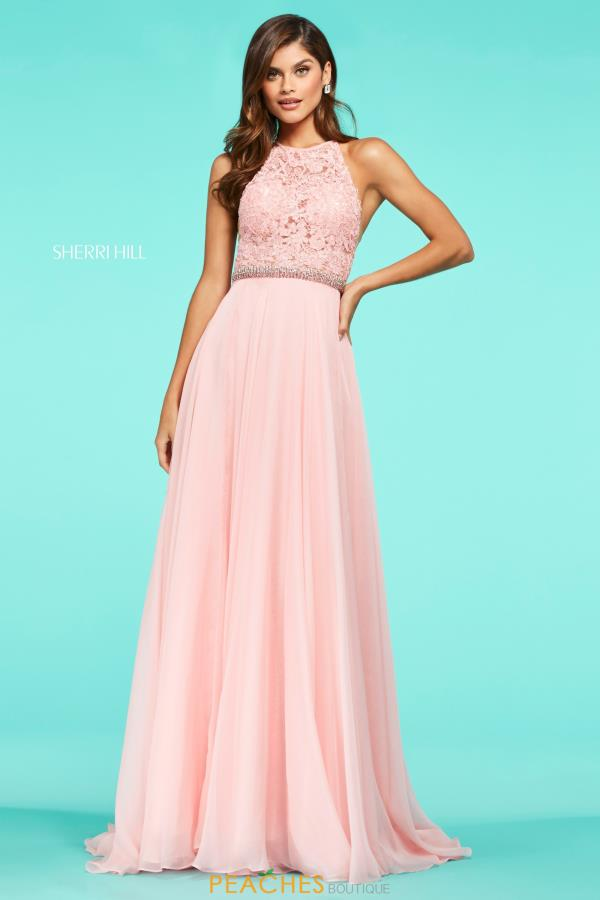 Sherri Hill Long A Line Dress 53626