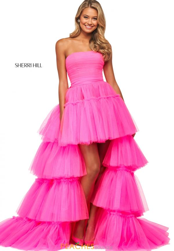 Sherri Hill A Line Tulle Dress 53776