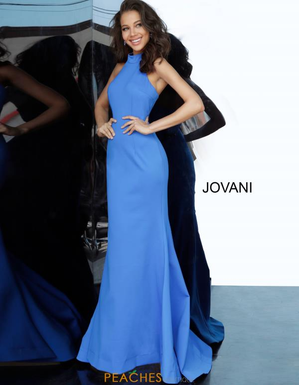 Jovani Halter Fitted Dress 67661
