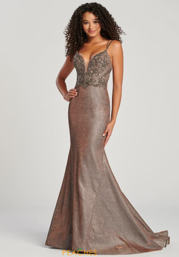 Colette Beaded Fitted Dress CL12034