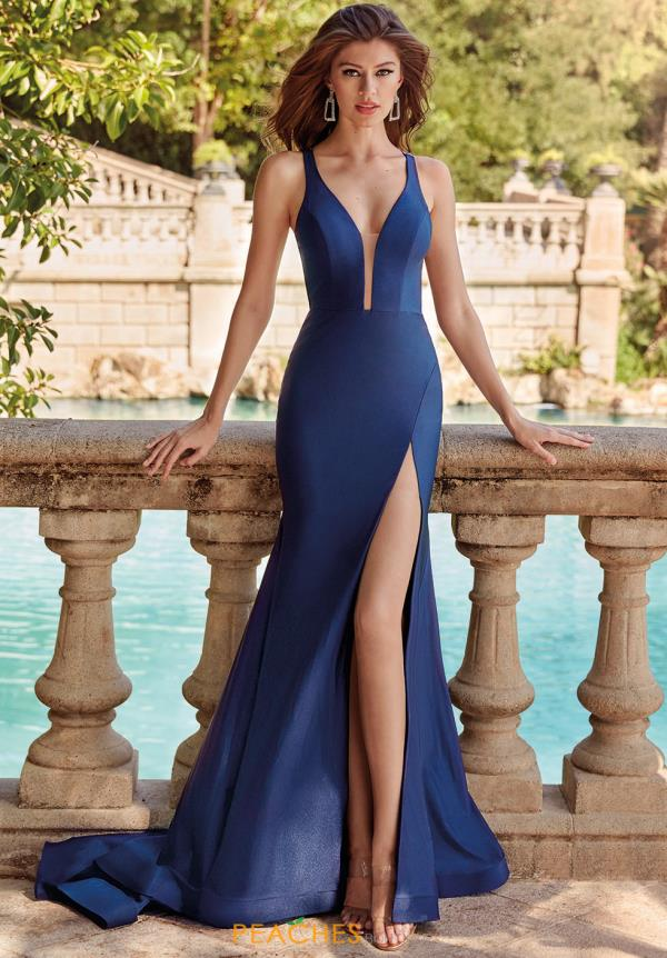 Alyce Paris Long FItted Dress 60769