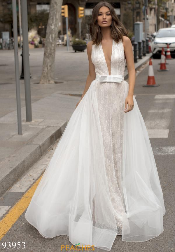 Tarik Ediz Fitted A Line Dress 93953