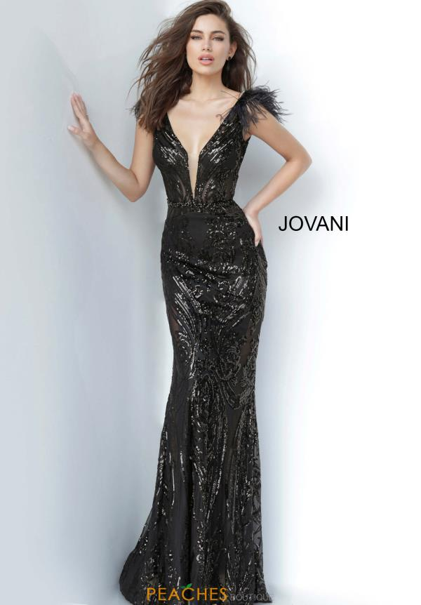 Jovani Long Fitted  Dress 3180