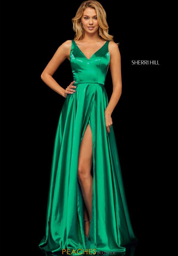 2e3f413ccda2a6 Sherri Hill Dress 52410 | PeachesBoutique.com