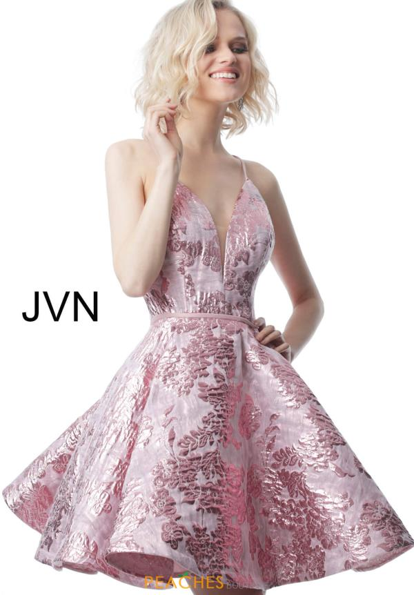 JVN by Jovani Sexy Back Short Dress JVN00564