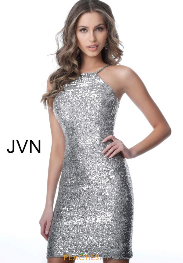 JVN by Jovani Beaded Fitted Dress JVN1112