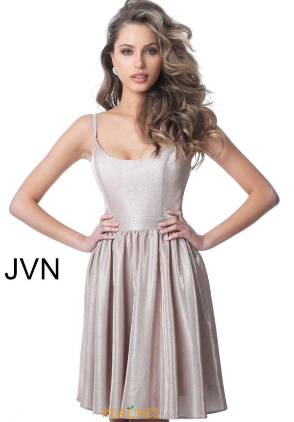 JVN by Jovani Scoop Open Back Dress JVN2190