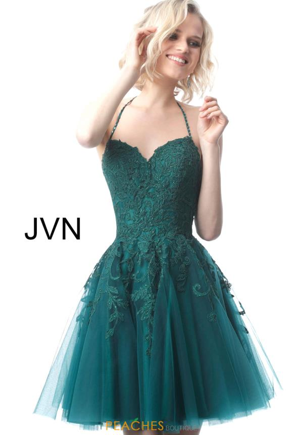 JVN by Jovani Sweetheart Applique Dress JVN2298