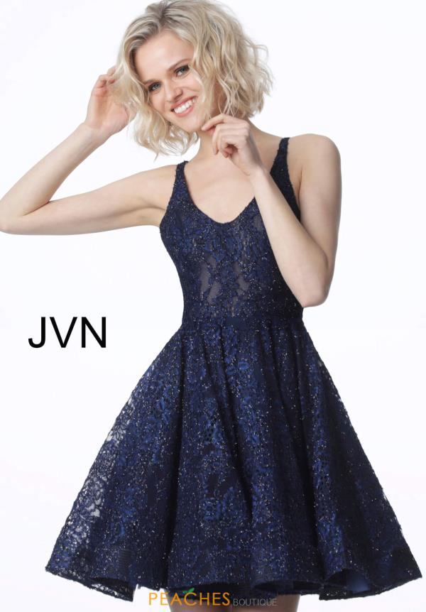 JVN by Jovani Scoop Beaded Dress JVN2362